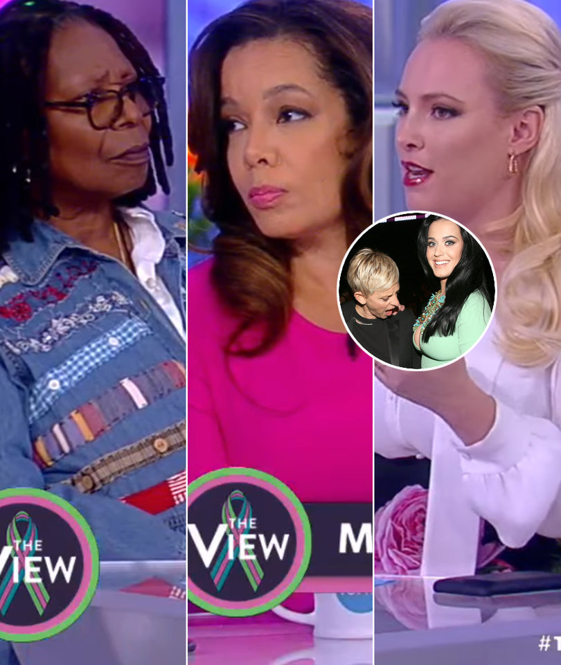 'The View' Piles on Ellen for Katy Perry Big Breasts Joke: 'Bad Timing'