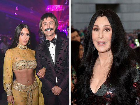 Here's What Cher Thinks of Kim Kardashian's Halloween Costume