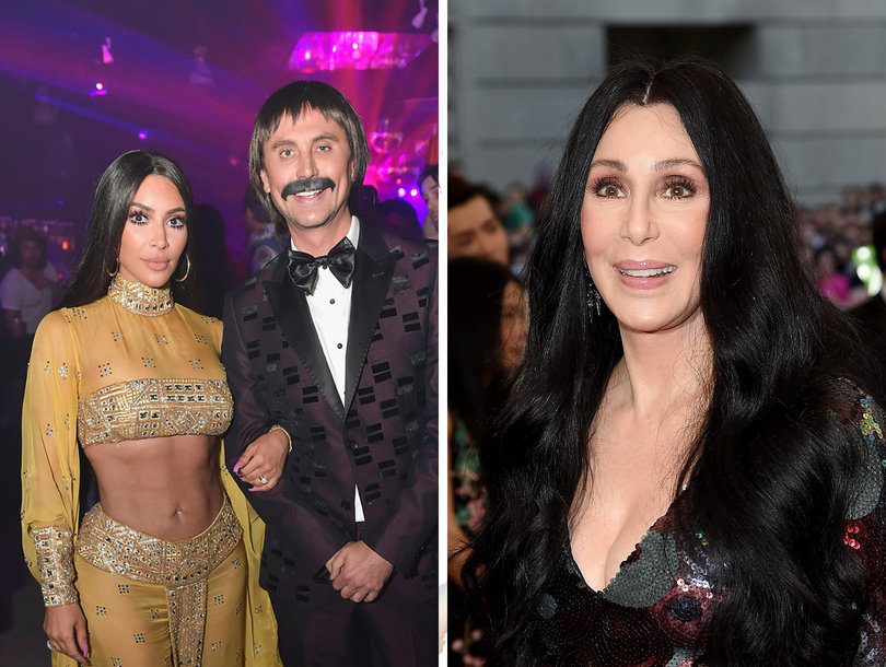 Here's What Cher Thinks of Kim Kardashian's Halloween Costume ...
