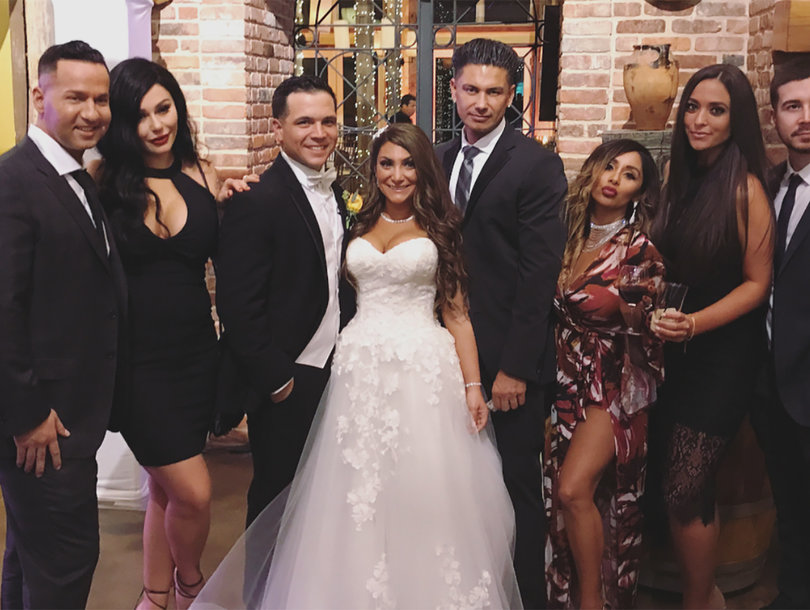 Why Ronnie Ortiz-Magro Was MIA From 'Jersey Shore' Co-Star Deena Cortese's Wedding (Exclusive)