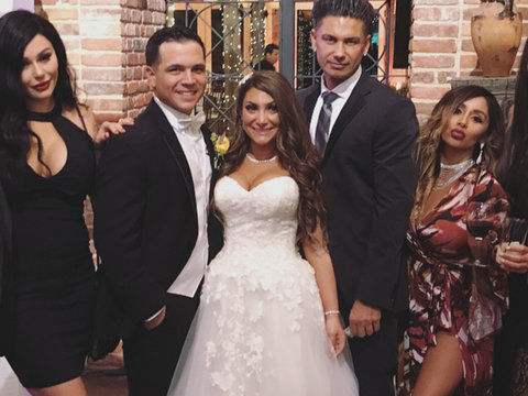 Why Ronnie Was MIA From 'Jersey Shore' Co-Star Deena Cortese's Wedding