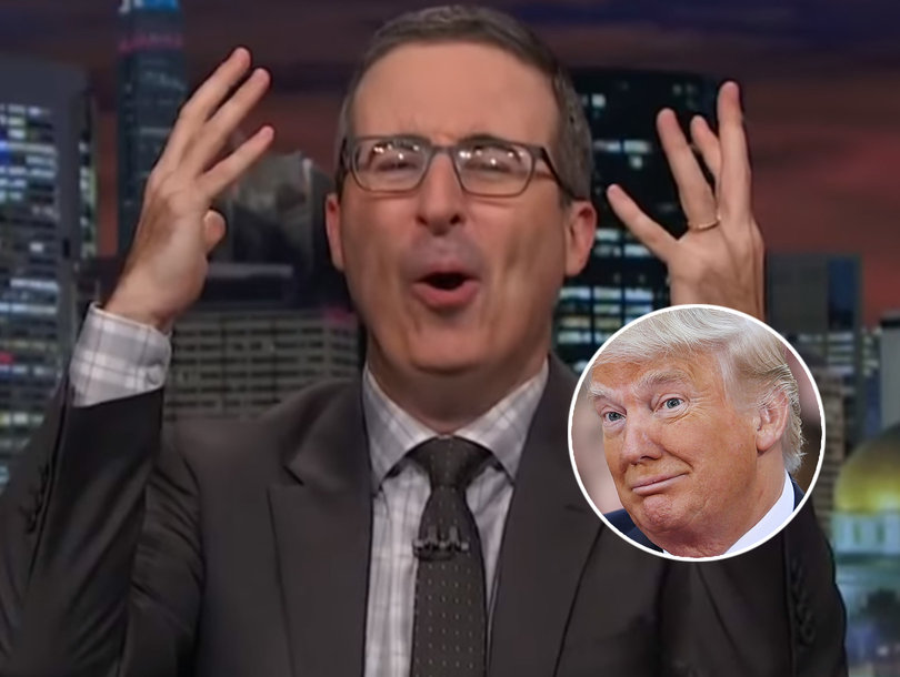 John Oliver Blasts Trump's Solution to Opioid Crisis: 'An Ad Campaign?'