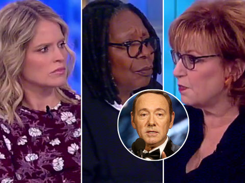 'View' Shreds Spacey's Apology as 'Irresponsible,' 'Dangerous' and 'Dumb'