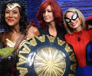 'Good Morning America' Hosts Go as Superheroes for Halloween