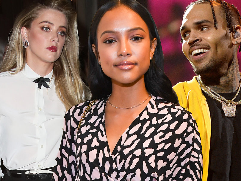 Karrueche Tran Tells Media to 'Stay Out of My Vagina' as She Talks Chris Brown, Quavo ... and Amber Heard?!