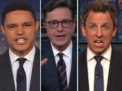 Late-Night Comedians Pile on Paul Manafort: 'Happy Halloween, Bitch'