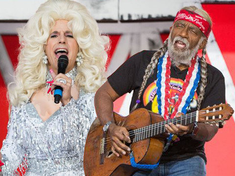 Matt Lauer Does Drag as Country Music Legends Take Over 'Today' for Halloween