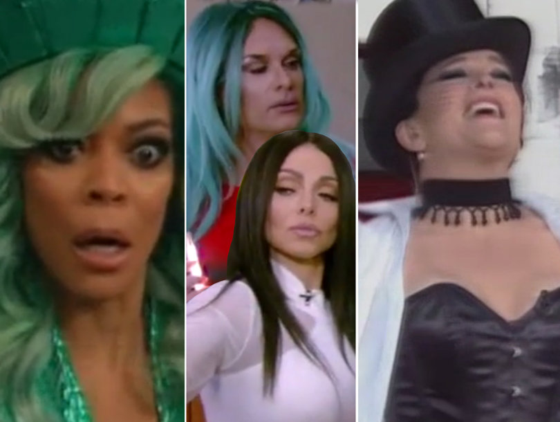 Halloween on Morning TV: The Funniest, Freakiest and Most Awkward Moments