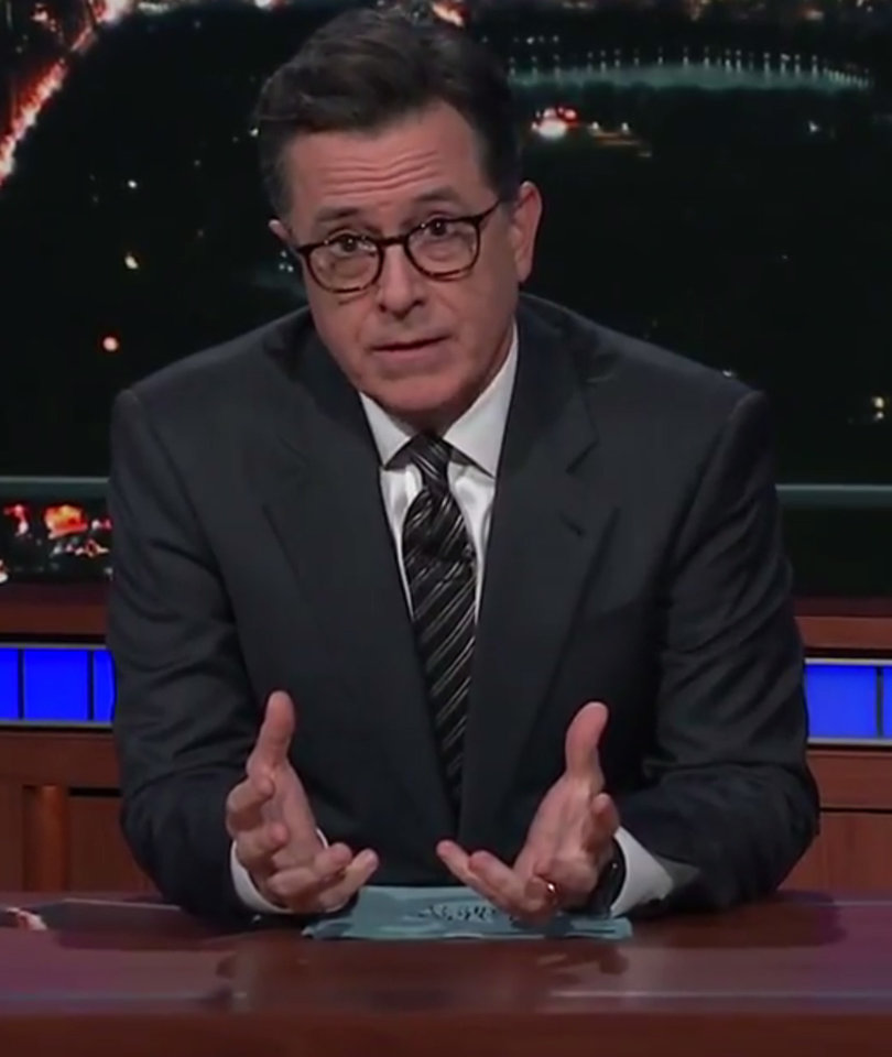 Colbert Confident 'New Yorkers Will Never Live in Fear' Despite Manhattan…
