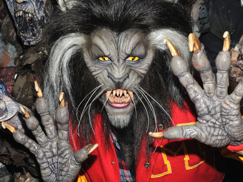 Heidi Klum Crushes It as Michael Jackson's 'Thriller' Werewolf for Halloween