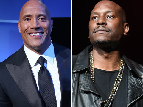 Tyrese Threatens to Quit 'Furious 9' If 'Selfish Champ' The Rock Is In It