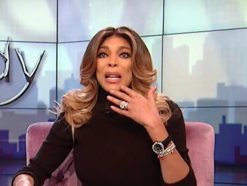Wendy Williams Tears Up Giving Play-by-Play of 'Scary' Halloween Collapse