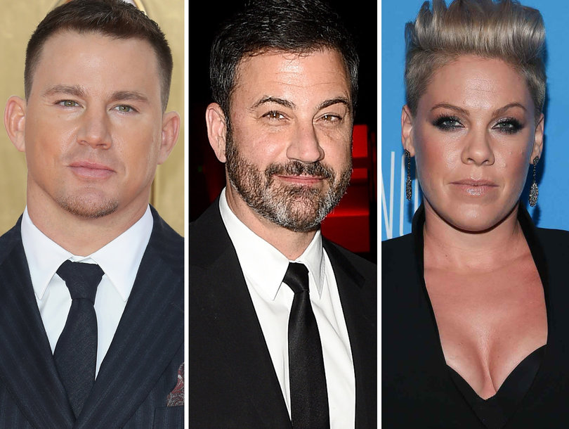 Channing Tatum, Jimmy Kimmel, P!nk Tell Kids They Ate Their Candy