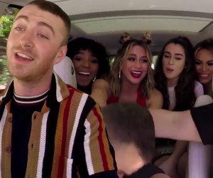 Fifth Harmony Crashes Proud Harmonizer Sam Smith's 'Carpool Karaoke'
