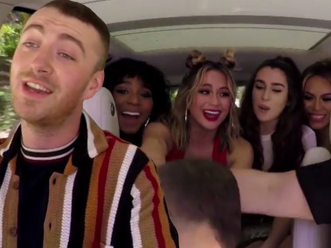 Fifth Harmony Crashes Proud Harmonizer Sam Smith's 'Carpool Karaoke'