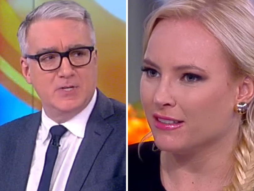 'The View': Meghan McCain Confronts Keith Olbermann Over 'Absurd' Trump-Bin Laden Comparison