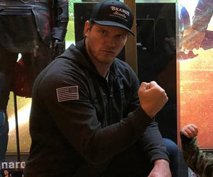 Chris Pratt Takes Son Jack to See 'Thor' and This Photo Is Perfect