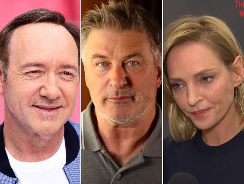 Today in Hollywood Harassment: New Spacey Accuser, Uma Thurman Goes Viral, Alec Baldwin Backlash
