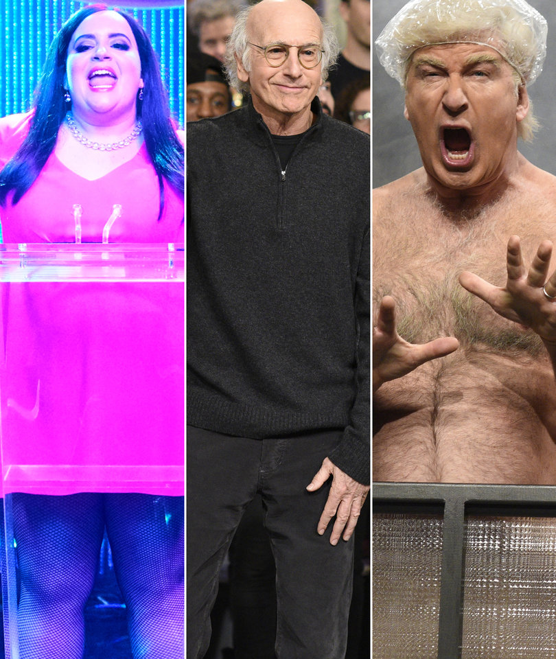 'SNL' Larry David Sketches Ranked as Miley and Baldwin Return