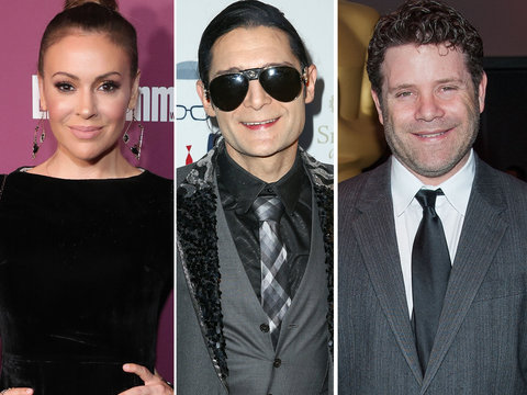 Corey Feldman, Sean Astin Defend Alyssa Milano From Backlash