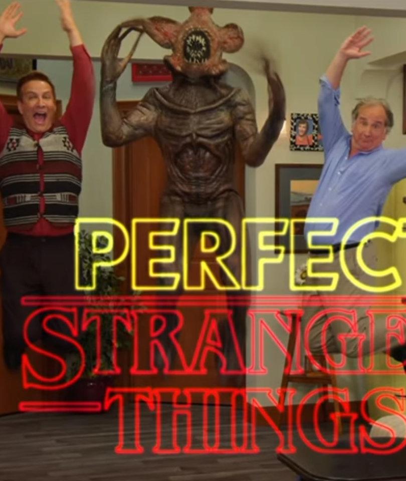 Jimmy Kimmel Turns 'Stranger Things' Into '80s Sitcom