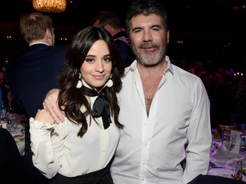 Camila Cabello and Simon Cowell Reunite at Music Industry Trust Awards