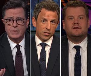 Late-Night Hosts Slam Trump, Demand Gun Control After Texas Shooting