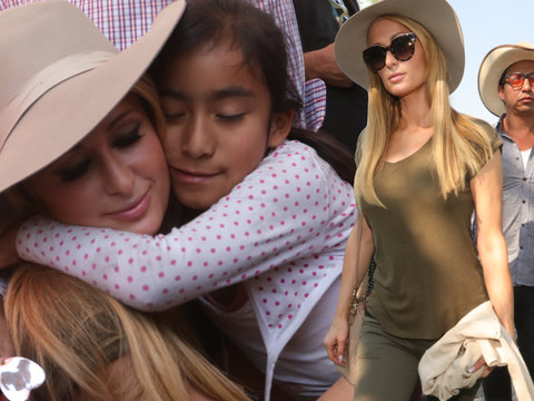 Paris Hilton Visits Mexico City After Devastating Earthquake