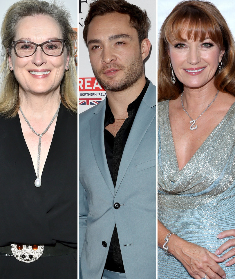 Today in Hollywood Harassment: Ed Westwick, Meryl Streep, Jane Seymour