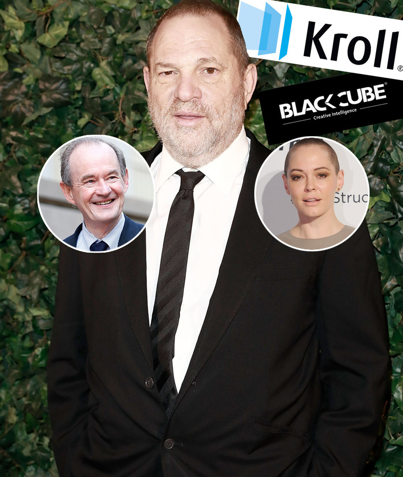 5 Bombshells From Harvey Weinstein's Spy Network Exposé