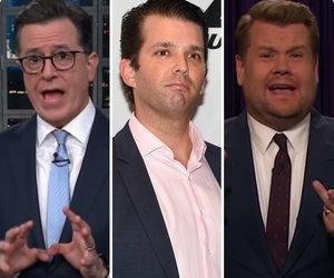 Colbert, Corden Pummel Donald Trump Jr. for Tweeting Wrong Day to Vote