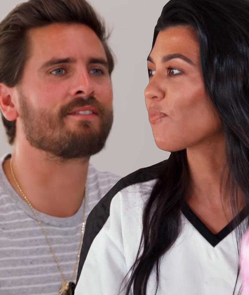 Wanna Be Kardashian Ͽ� Kourtney Ͽ� Midnight Cuddles Ͽ� Ͽ� I: Why Scott Disick Just Called Kourtney Kardashian Out On