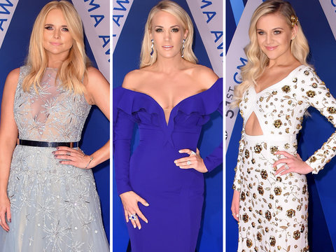 2017 CMAs: Every Red Carpet Look You Need to See