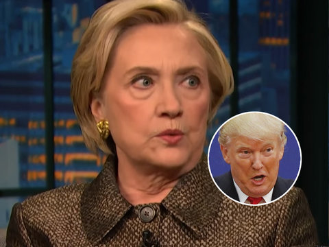 Hillary Clinton Blasts Trump for 'Flying Blind' Through North Korea Mess