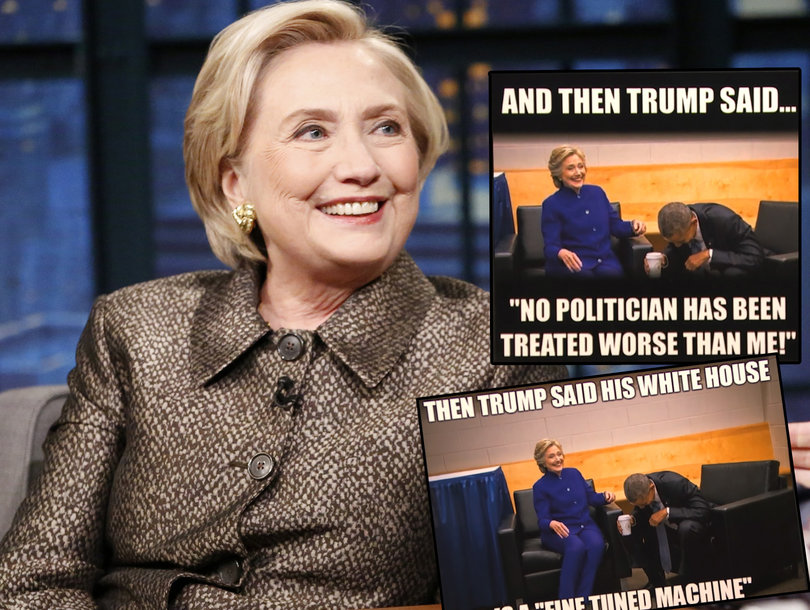 Hillary Clinton Refuses to Answer Seth Meyer's Most Important Question