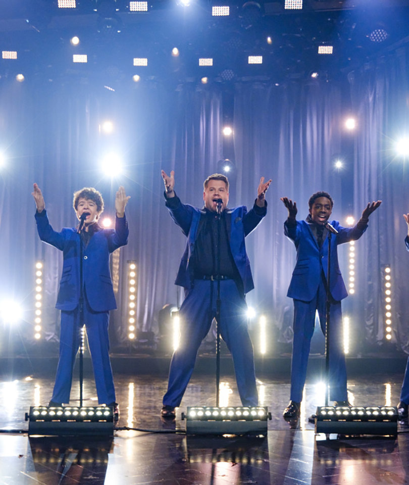 'Stranger Things' Boys and James Corden Crush as Motown Cover Band