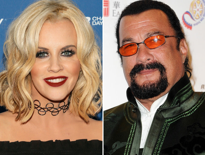 Jenny McCarthy Describes Alleged Steven Seagal Casting Couch Story: 'It Just So Grossed Me Out'