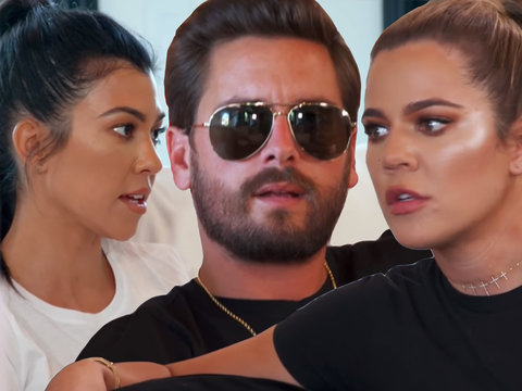 Khloe Calls Scott and Kourtney 'So F-cking Dysfunctional' In Latest Fight