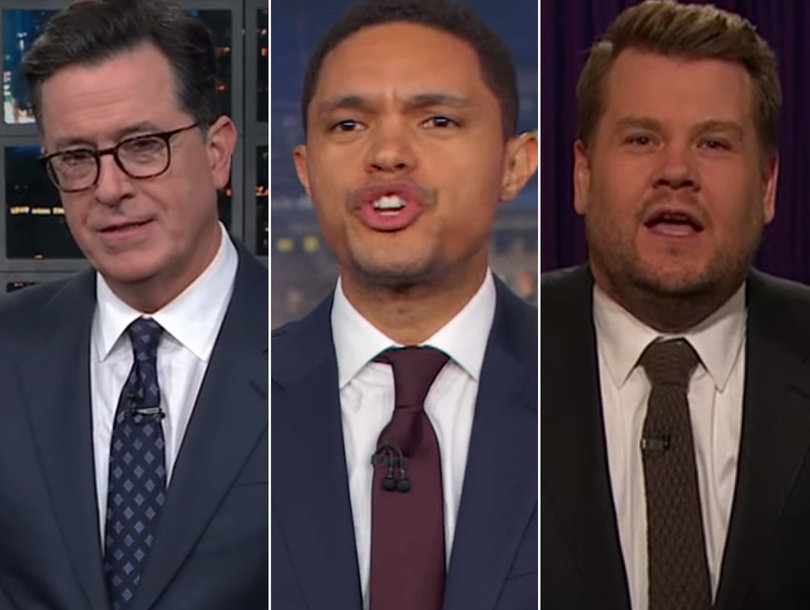 Late-Night Hosts Rail on Republicans for Election Results: 'Democrats Have Their Swagger Back'