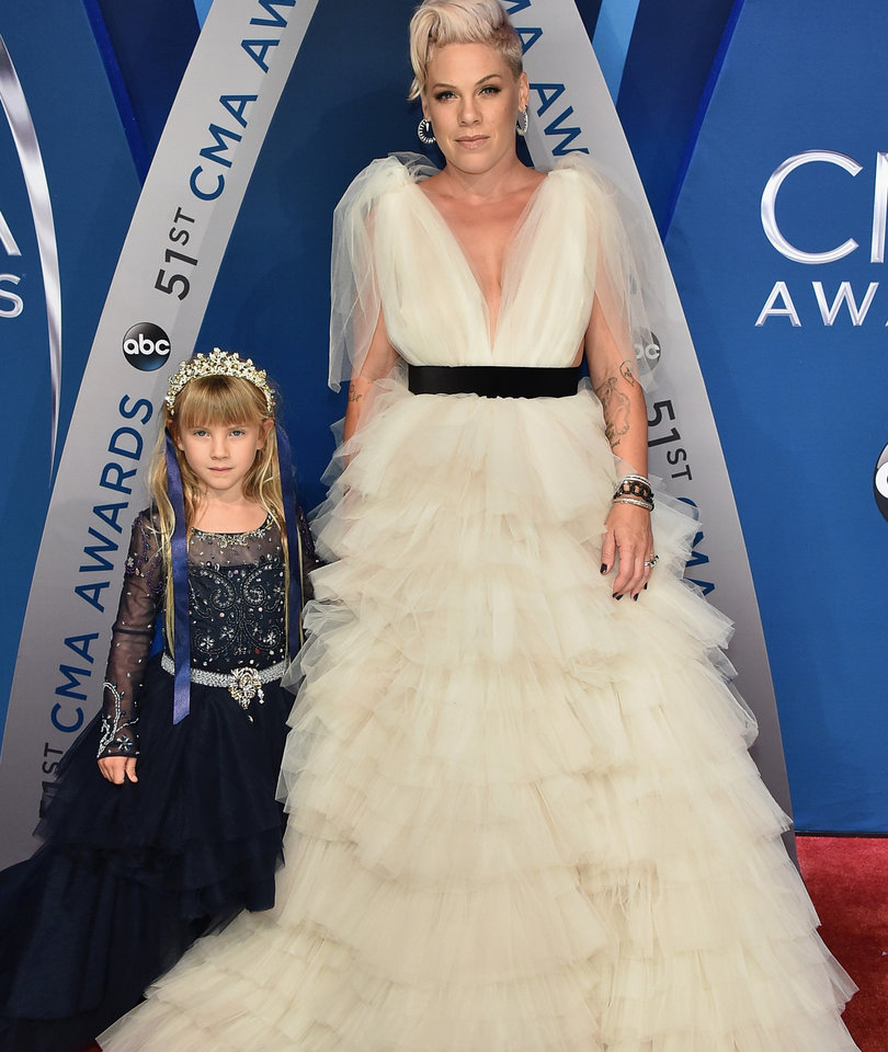 P!nk Brings Daughter Willow to the CMAs and It's Just Too Cute