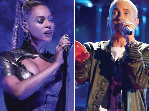 Beyoncé and Eminem Dropped a Surprise Collaboration and Twitter Can't Handle It