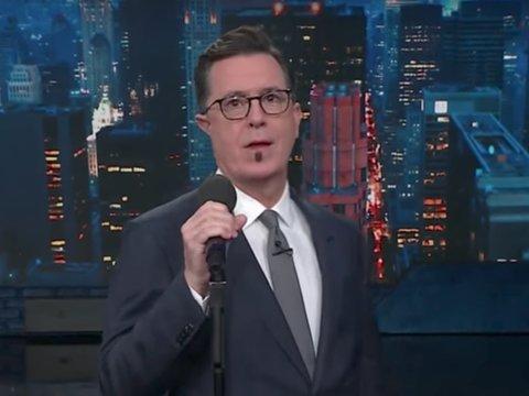 Colbert Shreds Keith Urban's 'Female' Before Singing Parody
