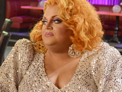 How Ginger Minj Ended Up Kiki-ing With Michelle Dockery, Jennifer Aniston