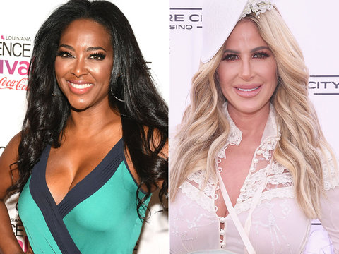 'RHOA' Star Kenya Moore Calls Kim Zolciak and Brielle Biermann 'Vile, Evil People'