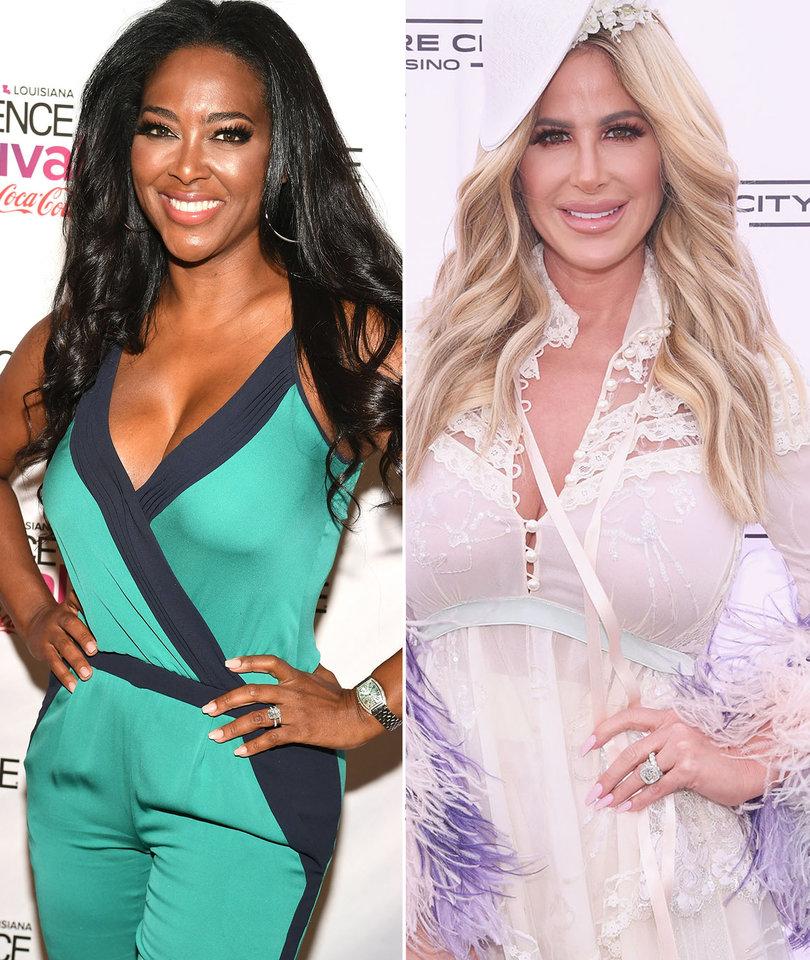 'RHOA' Star Kenya Moore Calls Kim Zolciak and Brielle Biermann 'Vile, Evil…