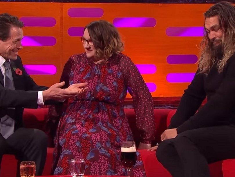 'Justice League' Star Jason Momoa Uses 'GoT' Dothraki to Freak Out Hugh Grant