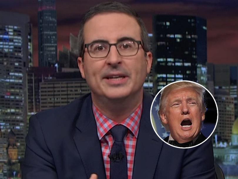 John Oliver Tears Into Trump for 23 Minutes on 'Last Week Tonight' Season Finale