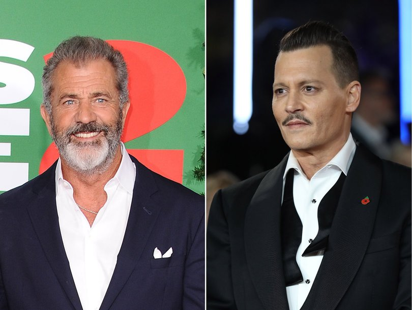 Mel Gibson, Johnny Depp Flourish in Theaters While Hollywood Stars Fall Over Allegations