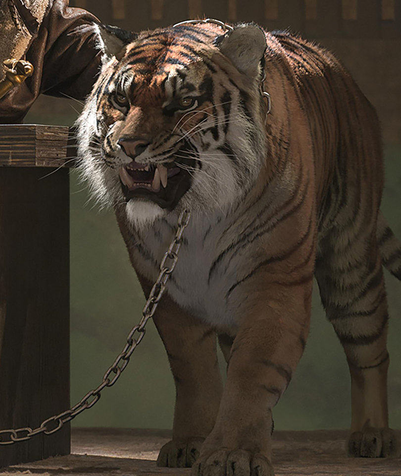 RIP Shiva: 'The Walking Dead' Fans Devastated by Fate of CGI Tiger