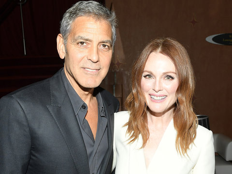 Why Julianne Moore Can't 'Bear the Thought' of President George Clooney